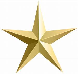 Free Gold Star Clipart Pictures - Clipartix
