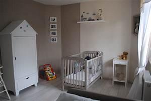 emejing chambre bebe garcon gris bleu gallery design With deco chambre bebe gris