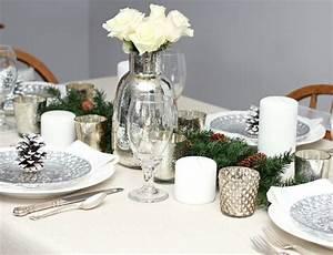 Tischdeko Weihnachten Silber : tischdeko zu weihnachten selber machen 55 ideen ~ Watch28wear.com Haus und Dekorationen