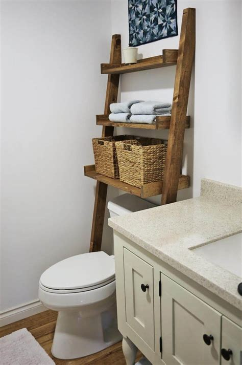 Bathroom Shelf Ideas by 25 Best Diy Bathroom Shelf Ideas And Designs For 2019
