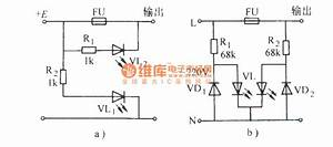 Using Led As Fuse Indicator - Led And Light Circuit - Circuit Diagram