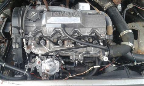 motor de toyota motor toyota 2 0 diésel 2c por partes 100 00 en