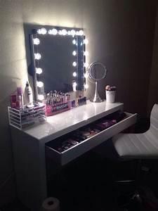 Miroir Maquillage Ikea : quelques id es coin makeup so chics sp cial commodes ~ Teatrodelosmanantiales.com Idées de Décoration