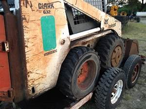632 Bobcat Skid Steer With Trailer  Needs Tlc