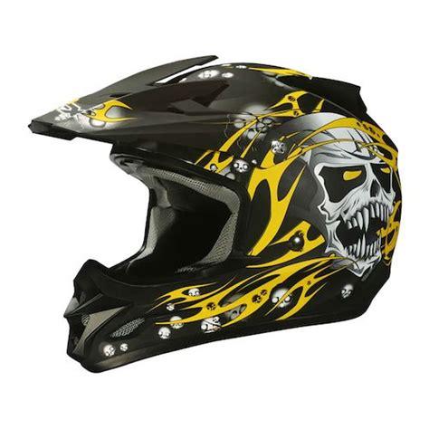skull motocross helmet afx fx 18 skull helmet revzilla