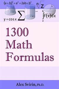 1300 Math Formulas  U2013 Alex Svirin