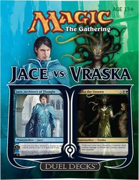 mtg jace illusion deck jace vs vraska duel deck mtg magic the gathering