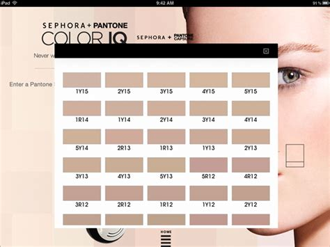 color iq sephora sephora pantone color iq musings of a muse