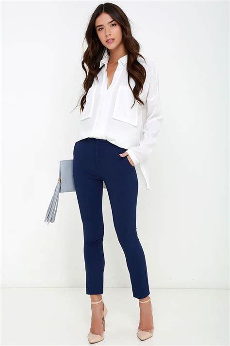 Ideas de outfits para combinar el color azul marino (17 ...