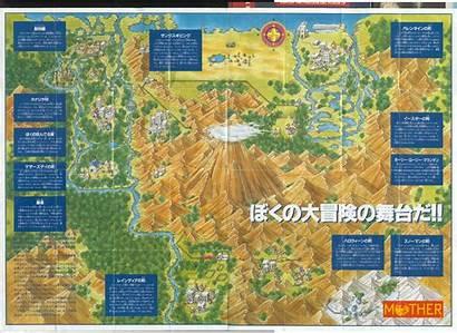 Mother Earthbound Map America Wiki Fandom Starmen