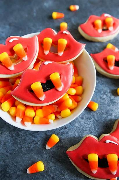 Cookies Halloween Candy Fang Corn Decorated Cookie