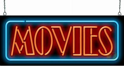 Sign Neon Movies Mg
