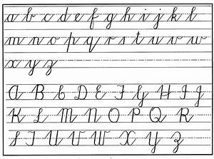 Cursive handwriting practical pages for Cursive letters upper and lower case
