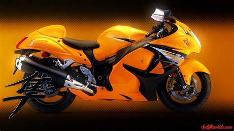 Hd Yellow Hayabusa Motorcycle Wallpaper