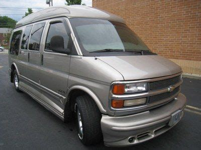 all car manuals free 2000 chevrolet express 1500 spare parts catalogs find used 2000 chevrolet express 1500 limited se explorer loaded no reserve in