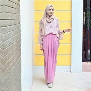 gamis modern trend baju muslim lebaran 2017 simple casual dan modern