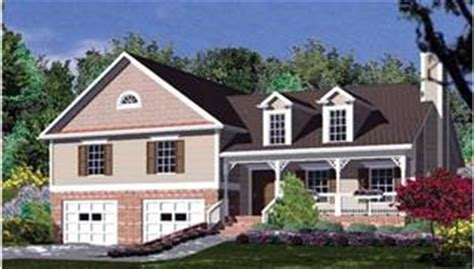 bi level house plans split level house plans home designs the house designers