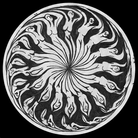 trippy hand drawn animated gifs  leave