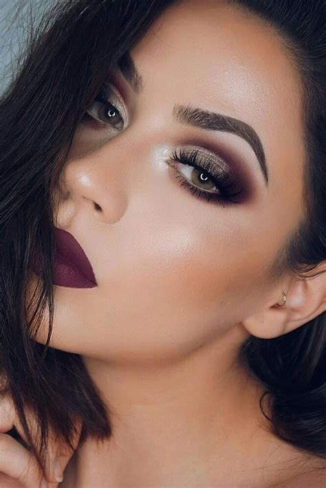 creative prom makeup ideas   trending pouted