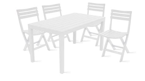 table 4 chaises best dimension table de jardin plastique photos seiunkel