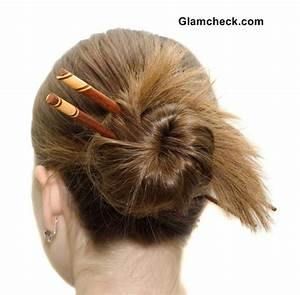Coiffures bun with Asian Hair Sticks | Bun Hairstyles ...