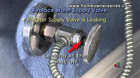 fix  toilet diagnostics water valve youtube