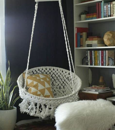 epic ways  diy hanging  swing chairs home design
