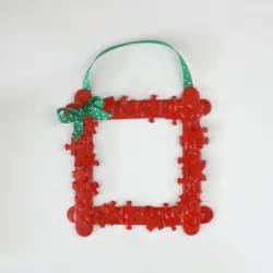 homemade christmas ornaments puzzle piece frame buggy and buddy
