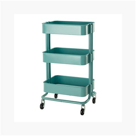 target kitchen island cart raskog home kitchen bedroom storage utility cart turquoise