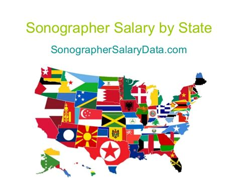 Sonographer Salary By State by Sonographer Salary By State