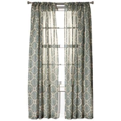 target medallion curtains   clearance