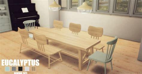 onyx sims eucalyptus diningroom sims  downloads