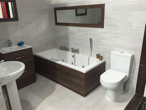 Walnut Vanity Unit With Matching Bath Panels And