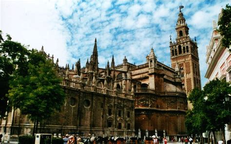 Seville Cathedral Spain Wallpaper 32649848 Fanpop