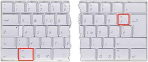 mac   zeichen tastenkombination techfrage