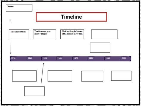 timeline template  kids sanjonmotel