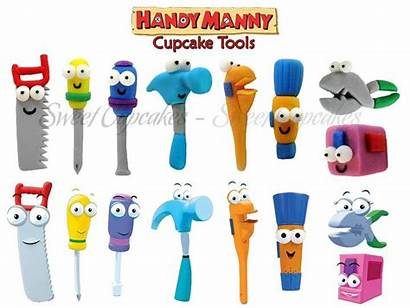 Manny Handy Tools Fondant Tool Names Clipart