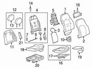 Cadillac Cts Seat Motor  Power  Lumbar  Recaro