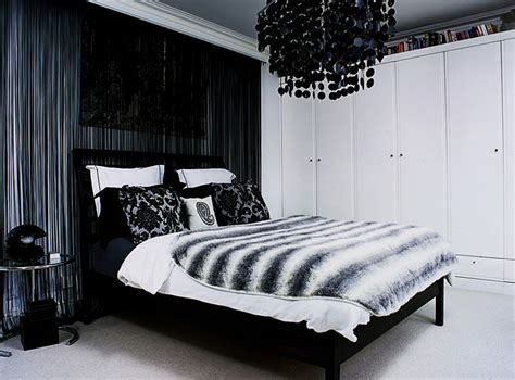 black chandelier for bedroom 35 timeless black and white bedrooms that how to