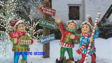 outdoor christmas yard decorations diy christmas yard