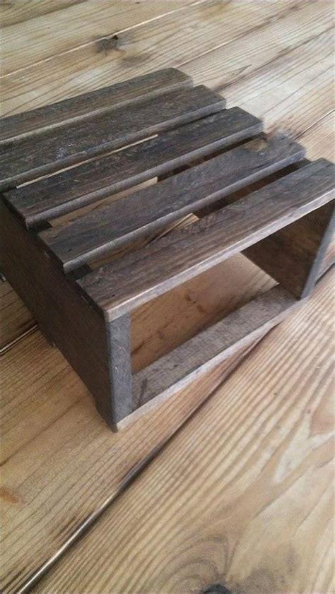 diy pallet rustic table riser pallet furniture plans