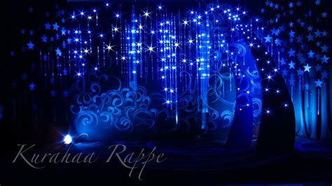 moon  stars decoration theme stars wedding set