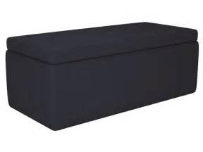 banc coffre en tissu coloris anthracite vente de chaise de jardin conforama