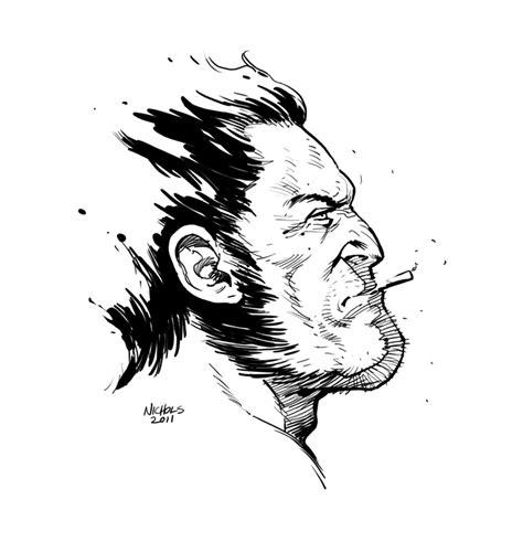 Wolverine Sketch By Flowcoma On Deviantart