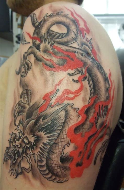 latest tattoos designs dragon tattoo meaning