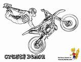 Coloring Dirt Motocross Bike Motorbike Bikes Ausmalbilder Crusty Motorcycle Kawasaki Demons Trick Quad Ramp Kostenlos Fmx Boys Malvorlagen Template Magnificent sketch template