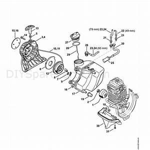 Stihl Fs 131 R Brushcutter  Fs 131 R  Parts Diagram  B