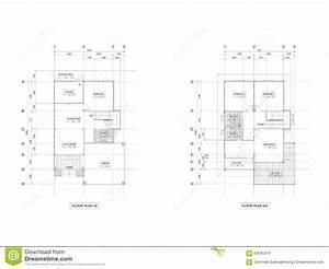 Plan Drawing House Stock Photo  Image Of Extension