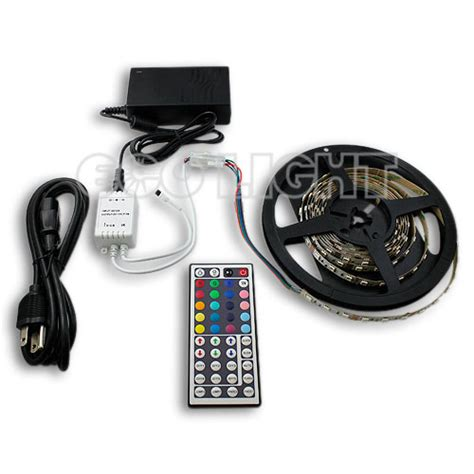 rgb 180 led light kit and play