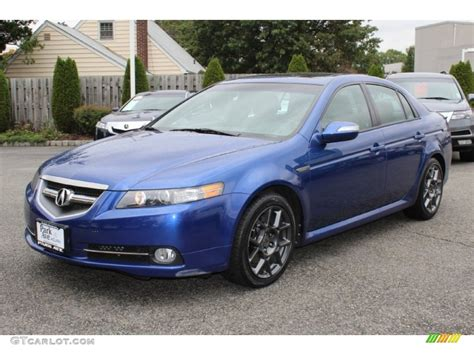 Acura Tls 2008 by Kinetic Blue Pearl 2008 Acura Tl 3 5 Type S Exterior Photo